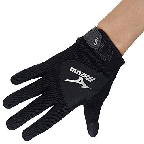 [ミズノ] ワークグローブ シリコーングリップタイプ ワークグラブ F3JGS805 ブラック メンズ 作業手袋 M 09ブラック