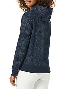 Amazon Essentials Sweat à Capuche en Polaire French Terry Shirt, Micro guépard Bleu Marine, XL
