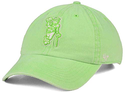 '47 Boston Celtics Light Green Clean Up Adjustable Baseball Cap - NBA, One Size, Relaxed Fit Dad Hat