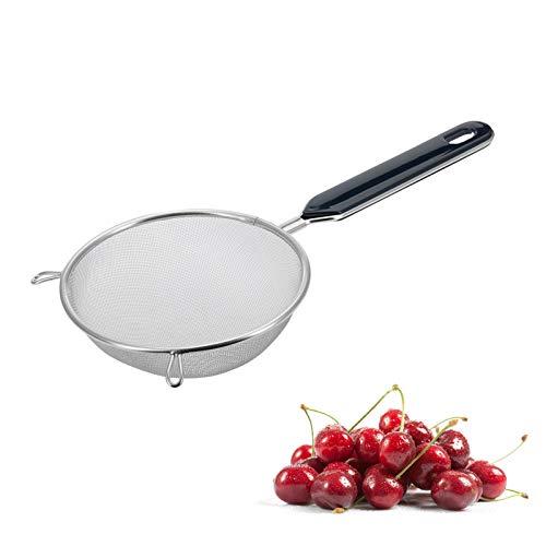 Westmark Haushaltssieb, Traditionell, ø 10 cm, Rostfreier Edelstahl/Kunststoff, Silber/Schwarz, 12822270