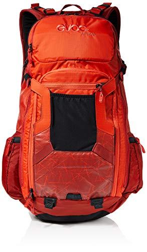 evoc FR Trail Protektor Rucksack, orange - Chili red, S