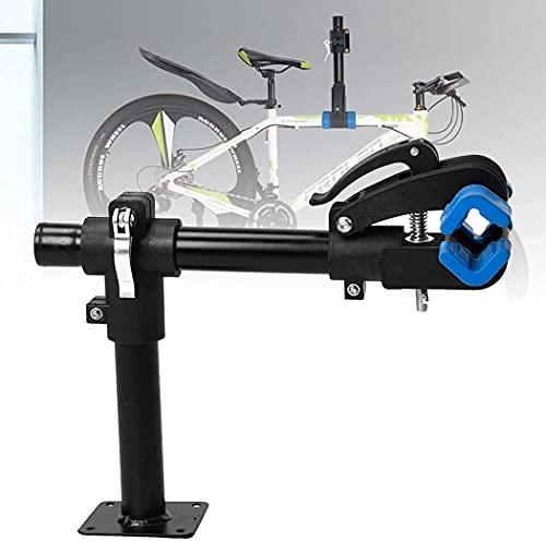 MTB Bicicleta De Carretera Soporte De Reparación De Montaje En Banco Soporte De Trabajo Ajuste De Acero Al Carbono Soporte Antideslizante para Bicicleta Clip Piezas De Ciclismo Accesorios Soporte De