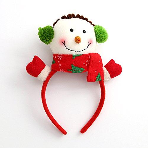 Inovey Kerst Hoofdband Rendier Antlers Santa Ear Haar Hoop Kerst Party Haaraccessoires Herten Haar Gesp Decoratie