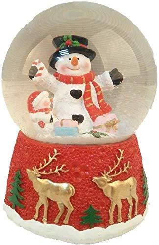 Lightahead Musical Snow Globe, Multi