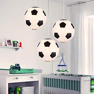 Plafonnier Football, Lustre Chambre Enfant Lot de 1, éclairage intérieur, Lampe de Salon Chambre, Conçu pour les fans de f...