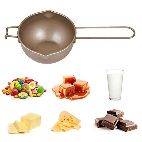 Olla De Fusión Universal, Inserto De Caldera Doble De 700 Ml, Caño Doble De Acero Al Carbono A Prueba De óxido Para Mantequilla, Chocolate, Queso, Caramelo