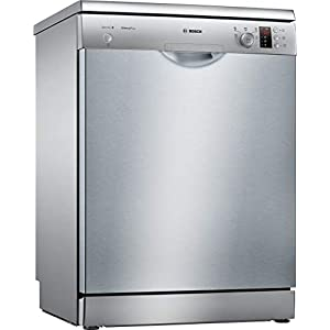 Bosch SMS25AI05E Freestanding 12 Cutlery A++ Dishwasher – Dishwasher (Freestanding, Stainless Steel, Full Size (60 cm), Stainless Steel, Buttons, Rotary, 1.75 m)
