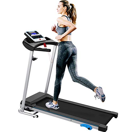 Big Save! Merax Folding Treadmill Easy Assembly Electric Motorized Running Jogging Machine for Home ...