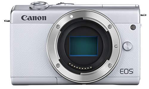 Canon ミラーレス一眼カメラ EOS M200 ボディー ホワイト EOSM200WH-BODY