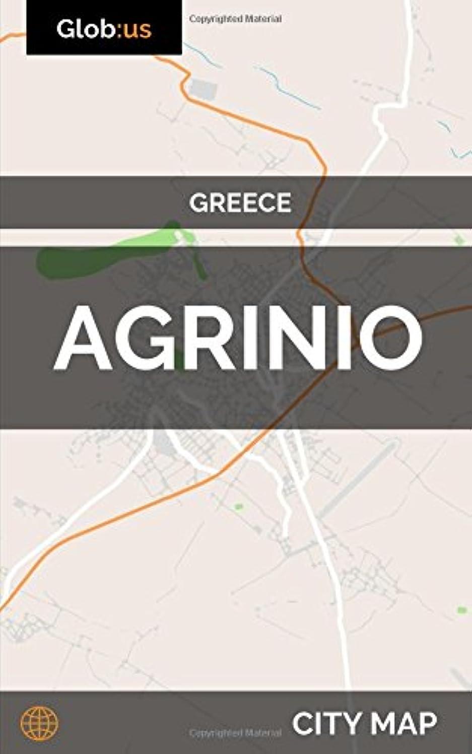 一般的に言えば露失礼なAgrinio, Greece - City Map