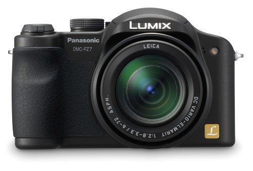 Panasonic DMC-FZ7 6MP Digitalkamera mit 12x Optischem Zoom (Schwarz)