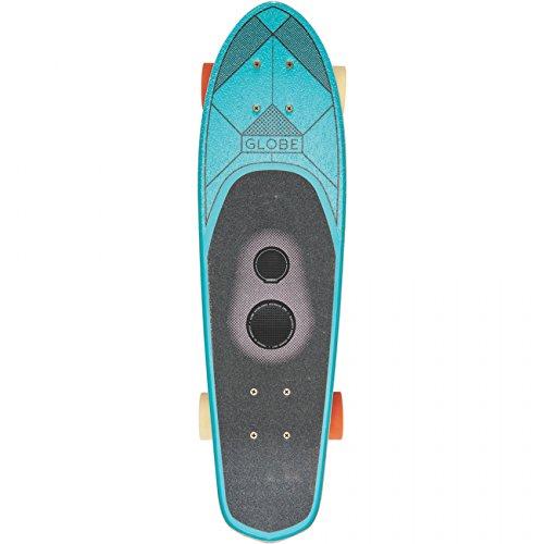 Globe GSB Blazer Cruiser 26'' Teal Bluetooth Sound met Boombotix actieve luidsprekers
