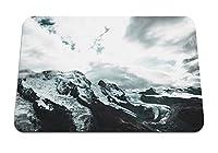 26cmx21cm マウスパッド (ツェルマットスイス山ピーク) パターンカスタムの マウスパッド
