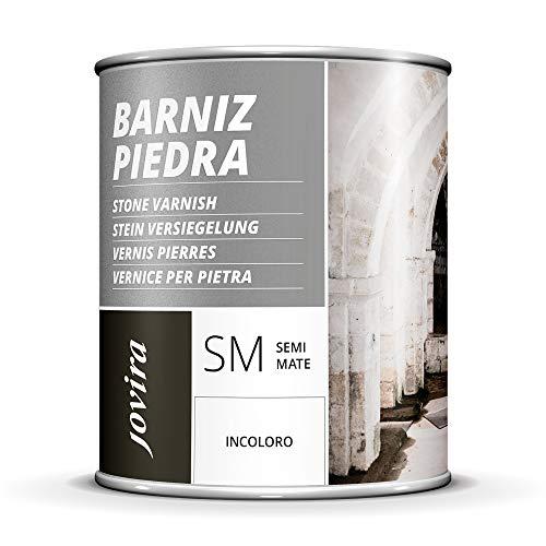 BARNIZ PARA PIEDRA, LADRILLO, TERRAZO Incoloro natural Transparente (2,3 L, SEMIMATE)