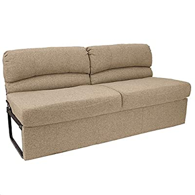 """RecPro Charles RV 62"""" Jackknife Sofa 