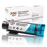 FDC 106R03477 - Cartucce toner compatibili di ricambio per stampanti Xerox Phaser 6510 6510DN 6510N WorkCentre 6515 6515DN 6515DNI 6515DNW 6515N 6515NW (ciano)