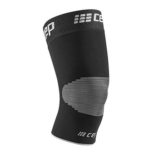 CEP – Ortho Knee Sleeve Unisex | Kniebandage für maximale Knie Stabilisierung in schwarz/grau | Größe V