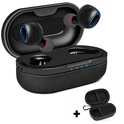 Xflelectronic Draadloze Oordoppen, Bluetooth 5.0 Hoofdtelefoon In-Ear Mini Headset, Stereo Met Opladen Doos En Ingebouwde Microfoon, Voor IPhone/Samsung/Huawei