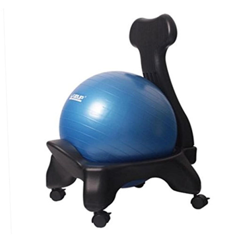 動揺させる鼻仕立て屋MIRACLE バランスボール チェア フルセット 鍛えられて 腰が張る 体幹を鍛える 簡単 エクササイズ イス オフィス トレーニング MC-LS3573