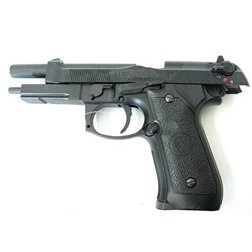 H F C Softair 0,9 Joule Pistola Half Metal RAFFICA Nera (HG 190R)