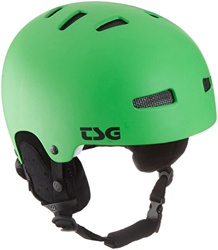 TSG Kinder Helm Gravity Youth Solid Color, Satin Lime Green, XXS/XS