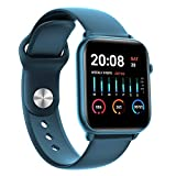 """Enhance KW37 Pro SpO2 1.30"""" Full Touch Smart Watch with Blood Oxygen Monitoring, Heart Rate, Body..."""