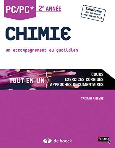 Chimie PC Tout en un : 2è Année, Un accompagnement au quotidien, programme 2014