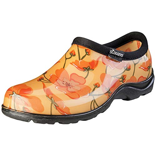 Sloggers Women's Waterproof Rain and Garden Shoe with Comfort Insole, California Dreaming Size 7, Style 5116CAD07