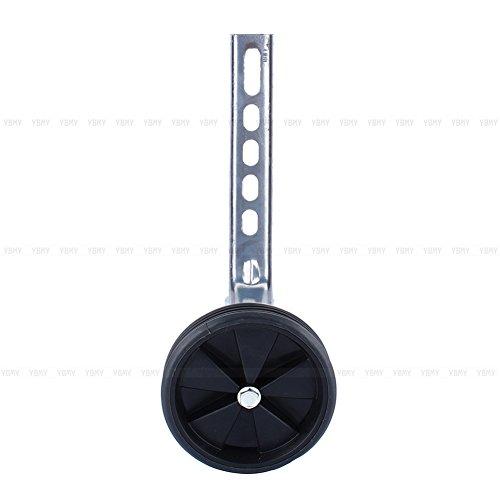 Yosoo Stützräder für Kinderfahrrad Sicherheitsstützräder für 12-20 Zoll Kinderfahrrad (Schwarz) - 6