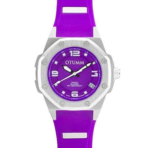Otumm Damen Uhr Analog mit Silikon Armband CLST39013