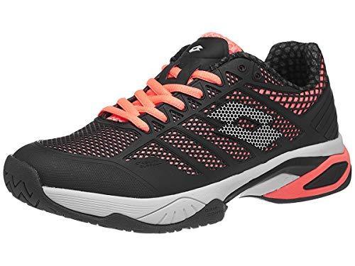 Lotto Viper Ultra IV Speed Women's Tennis Shoe (Black/Rose Pink) (Numeric_9)