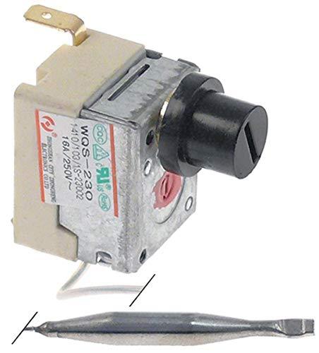 Sicherheitsthermostat 16 A 1NC 2 -polig max. 230 °C 5 mm L: 48 mm Temperaturregler für Horeca-Select, Metro-Professional, MCC-Trading-International, Makro-Professional