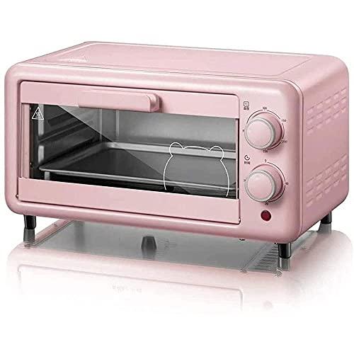 ZSCC Elektrisk ugn ? 800W mini bänkugn, för stekt kyckling, stek, pommes frites, chips, bacon, pizza ? Family Essential Oven