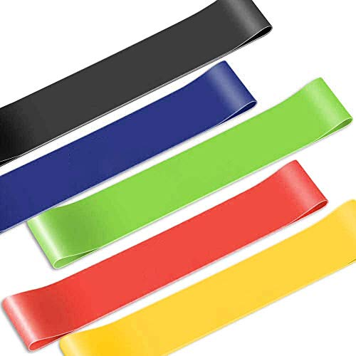 Vanbatey Linden Ridge Resistance Loop Elastic Exercise Bands Stretch Bands for Home Gym Workout Fitness Stretching Training
