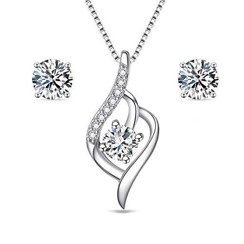 Sreema London - Collar con colgante de plata de ley 925,