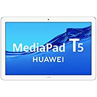 "Huawei Media Pad T5 - Tablet 10.1"" Full HD (WiFi, RAM de 3 GB, ROM de 32 GB, Android 8.0, EMUI 8.0) Azul Claro (Mist Blue)"