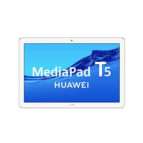 "Huawei Media Pad T5 - Tablet de 10.1"" Full HD (Wifi, RAM de 3 GB, ROM de 32 GB, Android 8.0, EMUI 8.0), Azul Claro (Mist Blue)"