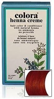 Natural Henna Hair Coloring Cream, Mahogany; 2floz