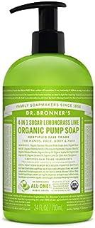 Dr. Bronner 710 ml Organic Liquid Lemongrass Hand Soap
