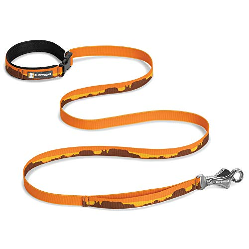 RUFFWEAR, Flat Out Dog Leash, Adjustable Lead with Padded Handle, Monument Valley