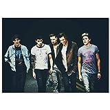 muyichen Leinwanddruck One Direction Leinwandplakat Home