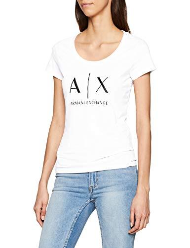 Armani Exchange Logo SS Camiseta para Mujer