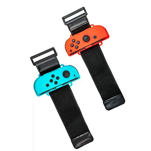 YUY Cinturini da Polso Just Dance Switch Aerobica Boxe Gioco Somatosensoriale Ballo Braccialetto Somatosensoriale per Controller Nintendo Joy-Cons,C