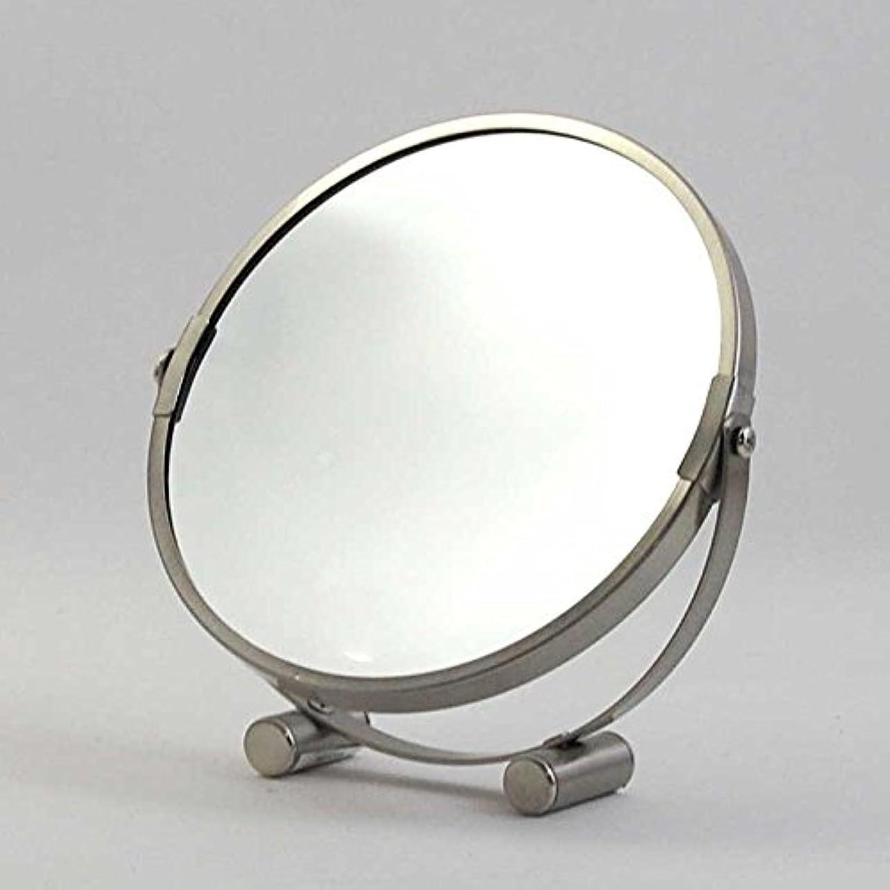 ささやき鮫おんどり卓上ミラー ダルトン ROUND MIRROR ラウンド ミラー A655-723 丸型 両面鏡 拡大鏡付