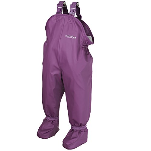 BMS wasserdichte Krabbelhose Babybuddy Softskin - Purple - für 8-16 Monate