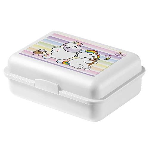 Pummeleinhorn Pummel & Friends Schule Reise Brotdose Lunchbox Zebrasus