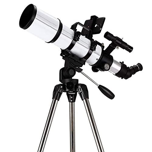 Espacio Profundo Profesional, Telescopio Para Niños, Adultos, Astronomía, Principiantes, Telescopio Refractor Para Astronomía, Telescopio De Viaje Portátil Con Trípode, Película Verde Multicapa