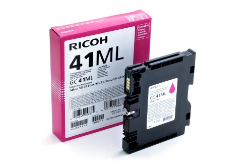Ricoh 405768 - Cartucho de tinta, 600 páginas/41 ml, Magenta ⭐