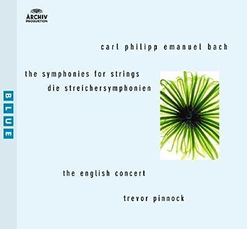 C.P.E.バッハ:弦楽のための交響曲