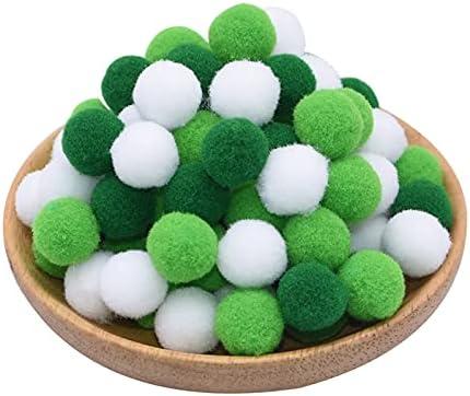 Amazon.com: 100pcs 15/20/25mm Fluffy Soft Pompom Ball DIY Handmade Sewing Material Color Pom Poms Decor Supplies Crafts - (Color: 100P-Solidcolor-B39)